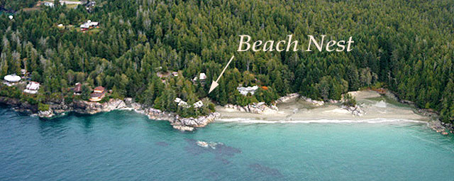 Tofino Beach Nest Vacation Cabin, Tonuqin Park Beach